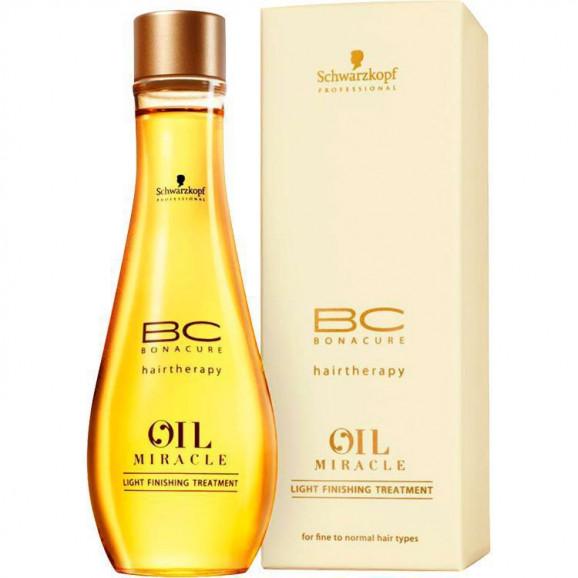 Schwarzkopf Bc Oil Miracle Light Finishing Treatment - Óleo de Amarula 100ml