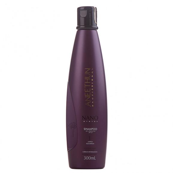 Shampoo Aneethun Limpeza Equilibrada Nano System 250 ml