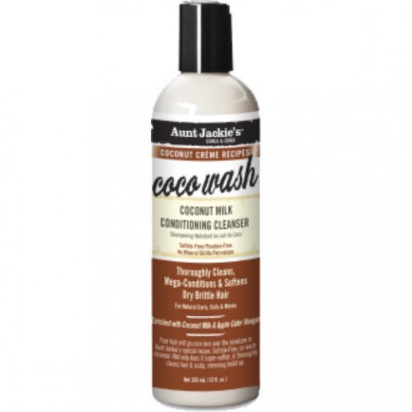 Shampoo Condicionante Aunt Jackies CoCo Wash 355ml