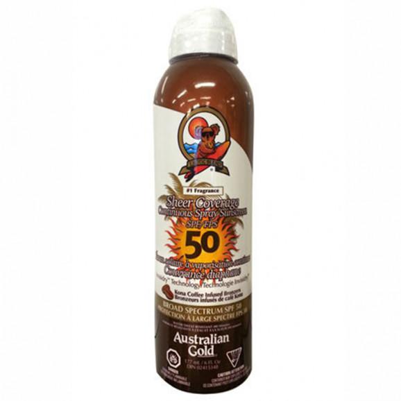 Australian Gold SPF 50 Continuous Spray Sunscreen - Spray 177ml