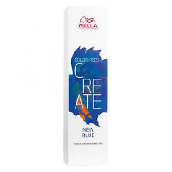 Color Semipermanente Wella Color Fresh Create New Blue 60ml