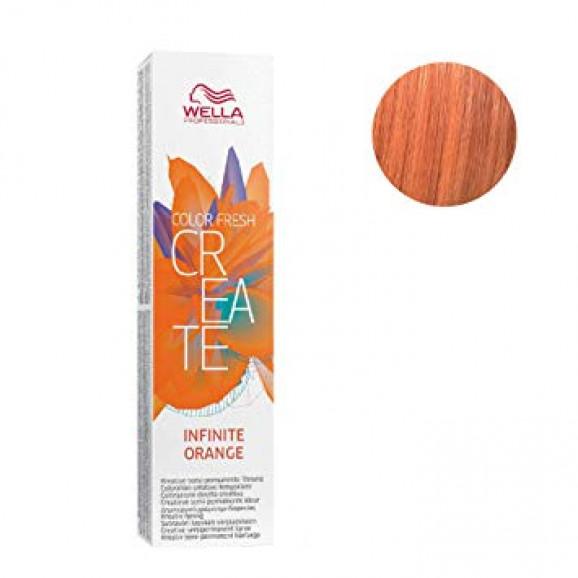 Coloração Semipermanente Wella Professionals Color Fresh Infinite Orange 60ml