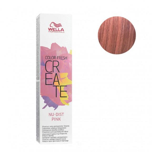 Color Semipermanente Wella Professionals Color Fresh Nu-Dist Pink 60ml