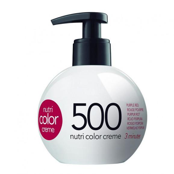 Coloração Creme Revlon Professional Nutri Color 500 Vermelho Purpura