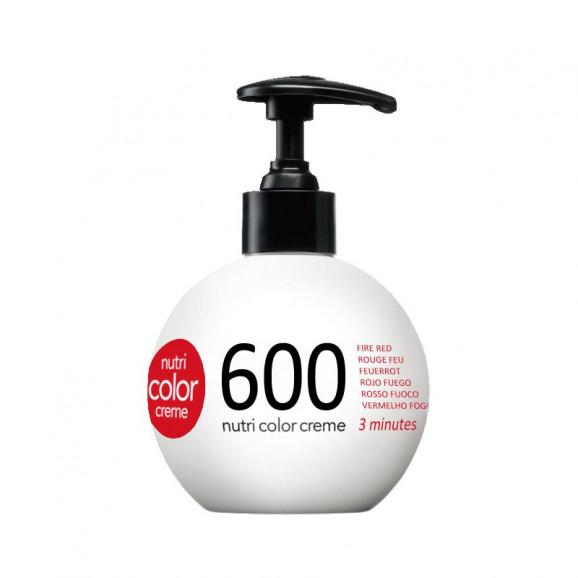 Coloração Creme Revlon Nutri Color 600 Vermelho Fogo 250ml