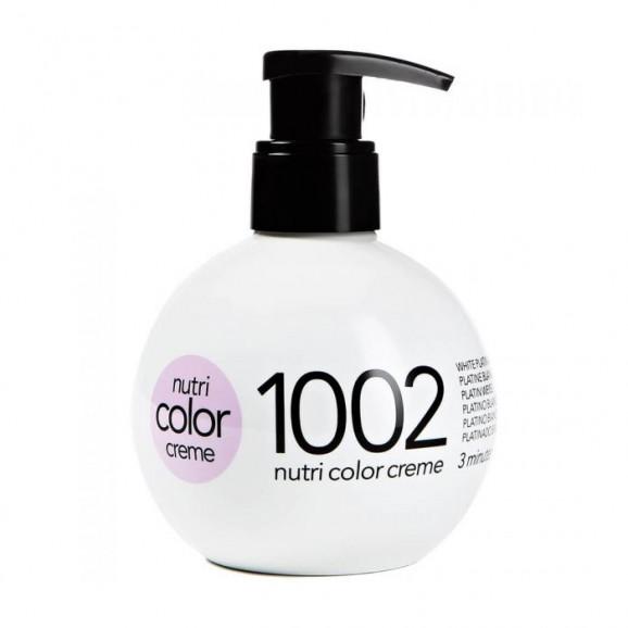 Coloração Creme Revlon Professional Nutri Color Creme 1002 Platino Branco 250ml