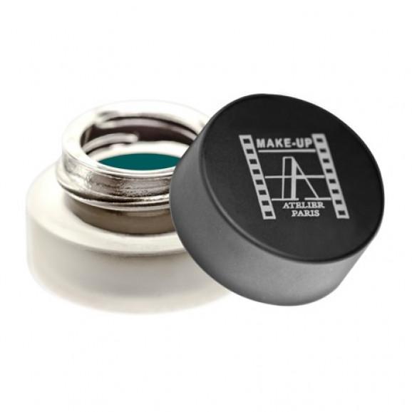Delineador em Gel Make Up Atelier Eyeliner Esmeralda EMW Emeraude - 4g