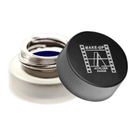 Delineador em Gel Make Up Atelier Eyeliner Preto Azulado - Bleu Nuit EBLNW - 4g