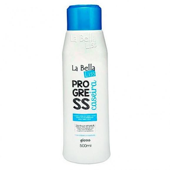 Gloss La Bella Liss Progress Caseira 500ml