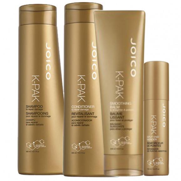 Joico K-Pak Smooth Mender Kit (4 produtos)