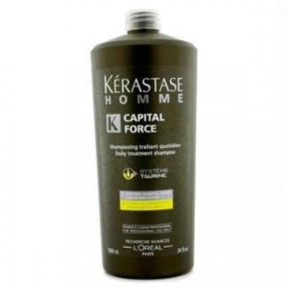Kerástase Homme Capital Force Daily Treatment - Shampoo 1000ml