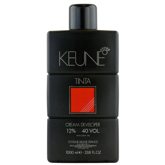 Keune Cream Developer 12% Oxidante 40 volumes - 1000 mls