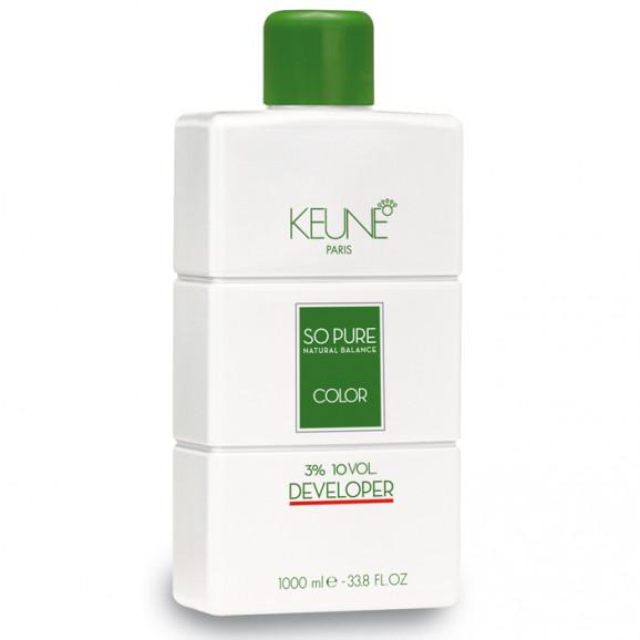 Keune So Pure Developer 3% Oxidante 10 volumes - 1000 mls