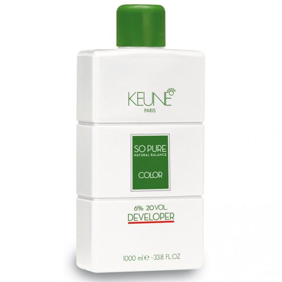 Keune So Pure Developer 6% Oxidante 20 volumes - 1000 mls
