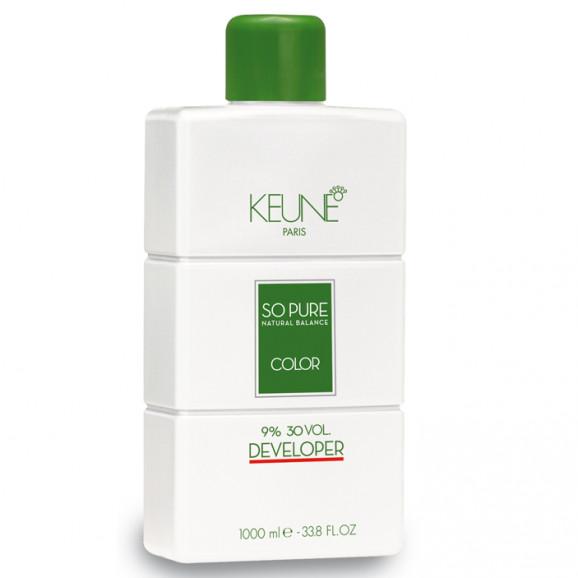 Keune So Pure Developer 9% Oxidante 30 volumes - 1000 mls