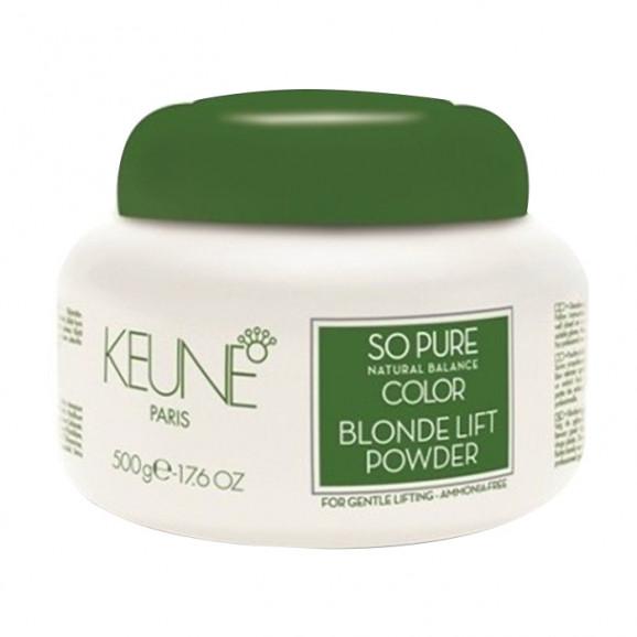 Keune So Pure Color Blonde Lift Powder - Pó Descolorante Sem Amônia 500g
