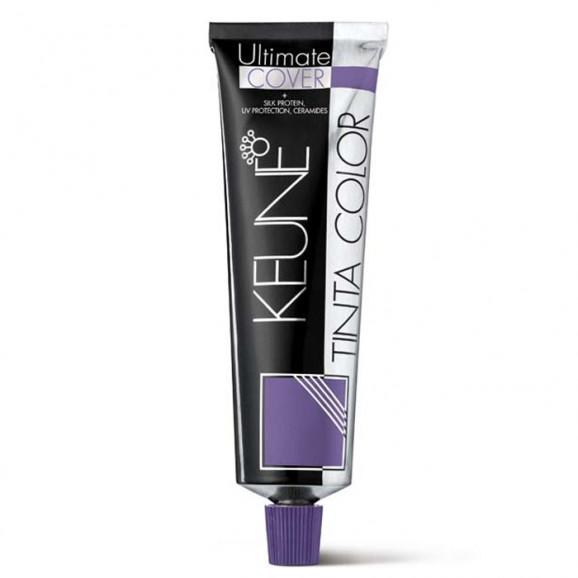 Keune Tinta Color Ultimate Cover Plus - Tintura 60ml -5.00 Plus - Castanho Claro