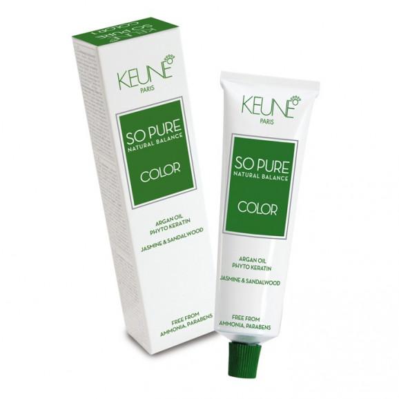 Keune So Pure Tinta Color - Tinta 60ml - 1- Preto