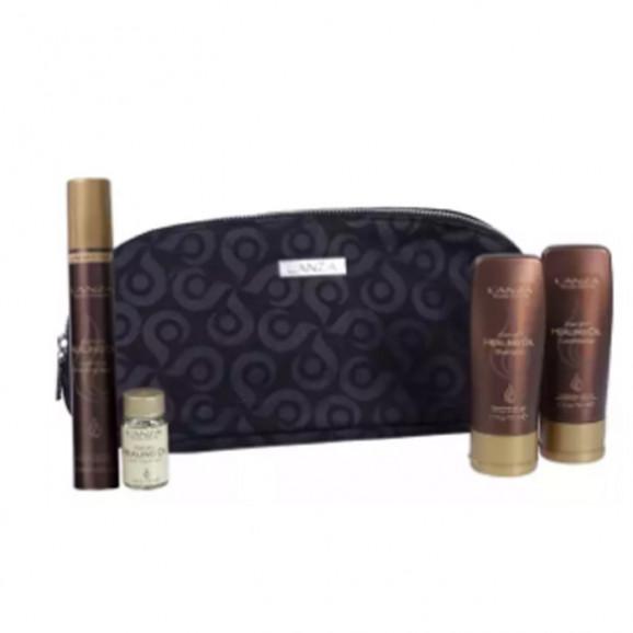 Kit Lanza Healing Oil Cosmetic Bag (4 Produtos)