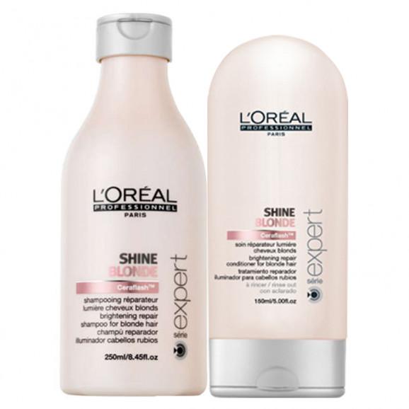 Loreal Professionnel Shine Blonde Kit (2 Produtos)