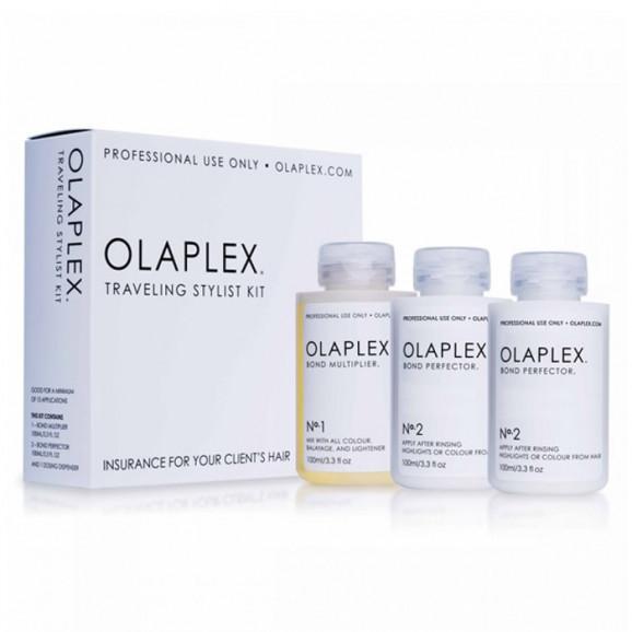 Kit de Tratamento Olaplex Traveling Stylist (3 Produtos)