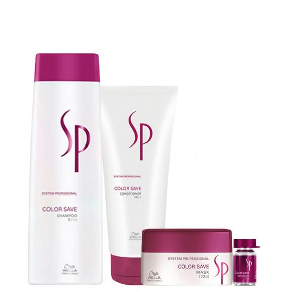 Wella SP Color Save Kit (4 Produtos)