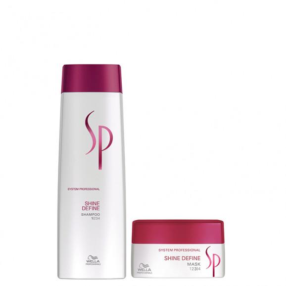 Wella SP Shine Define Kit (2 Produtos)
