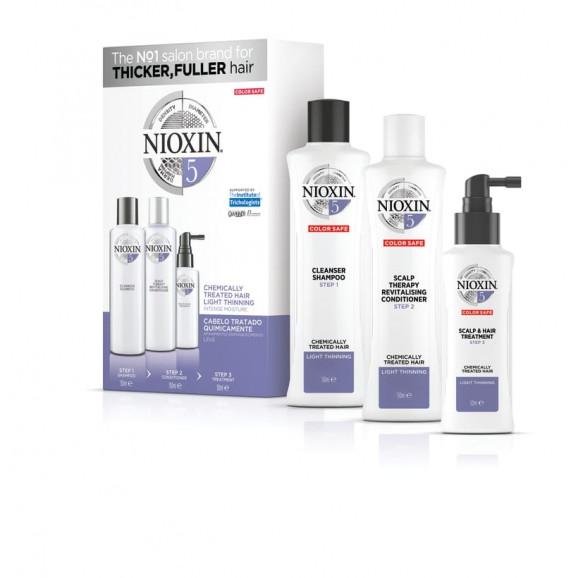 Kit Nioxin System 5 Pequeno (3 Produtos)