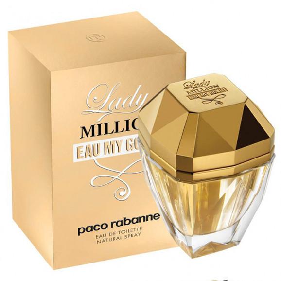 Perfume Lady Million Eau My Gold EDT Feminino 30ml - Paco Rabanne