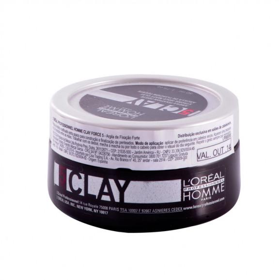 L'oréal Professionnel Homme Clay Argile Pasta - 50ml