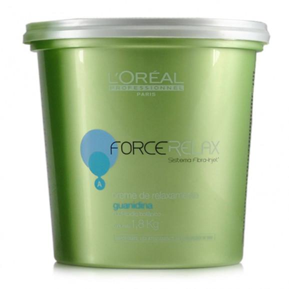 L'Oréal Profissional Force Relax - Creme de Relaxamento 1800g
