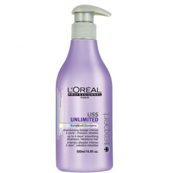 L´oréal Profesionnel Liss Unlimited - Shampoo 500ml