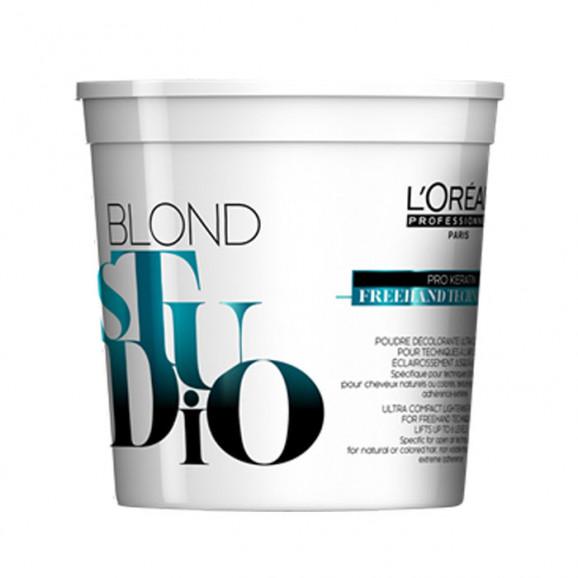 Pó Descolorante Loreal Professionnel Blond Studio Freehand Techniques 400g