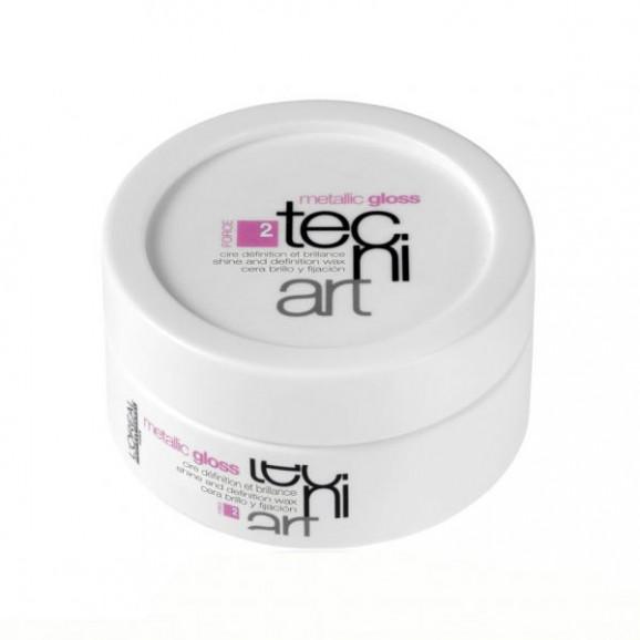 L'oréal Professionnel Tecni.Art Metallic Gloss Cera - 50ml