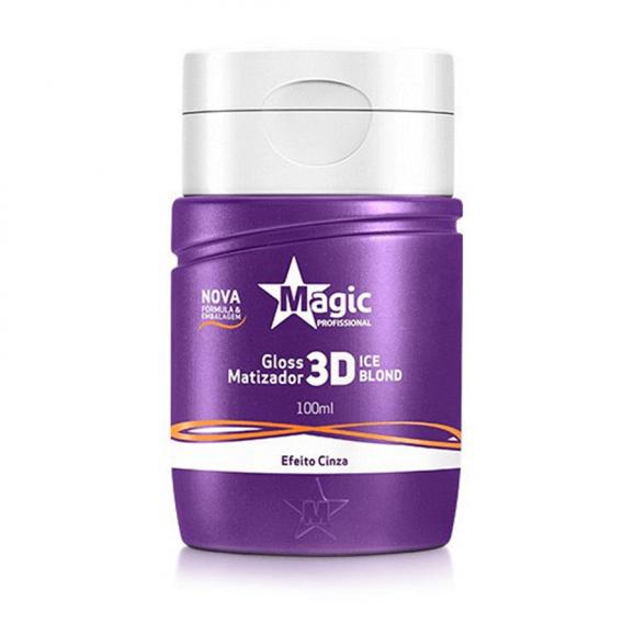 Gloss Matizador Magic Professionnel 3D Ice Blond 100ml