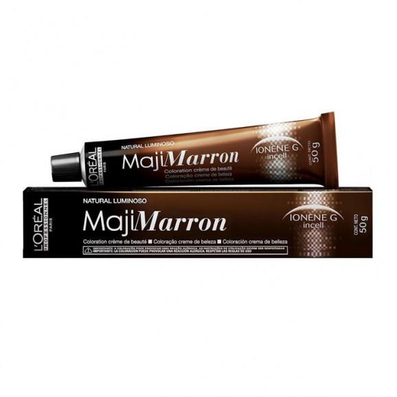 Tintura Loreal Professionnel MajiMarron-6.8 - Louro Escuro Marrom