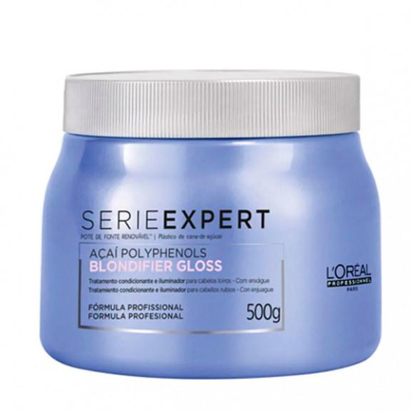 Máscara Loreal Professionnel Polyphenols Blondifier Gloss 500g