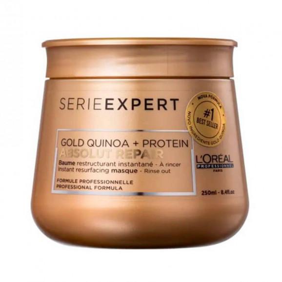 Mascara Loreal Professionnel Absolut Repair Gold Quinoa + Protein 250g