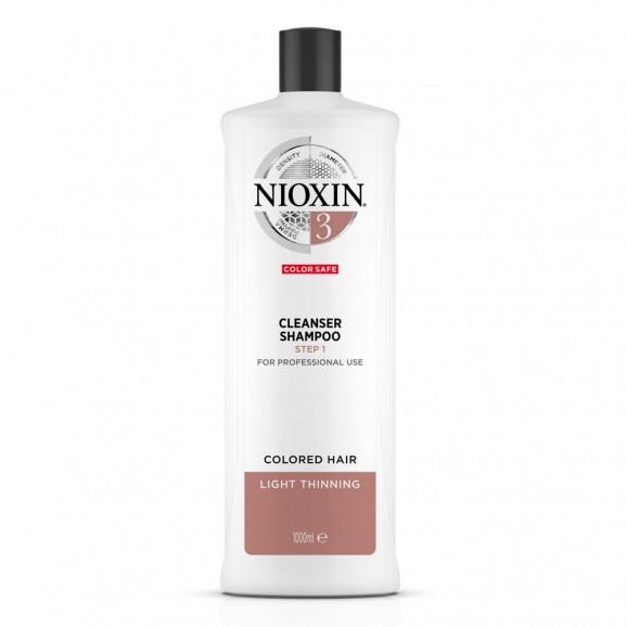 Shampoo Nioxin System 3 Cleanser 1000ml