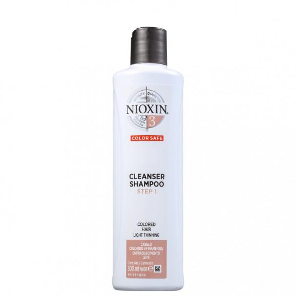 Shampoo Nioxin System 3 Cleanser 300ml