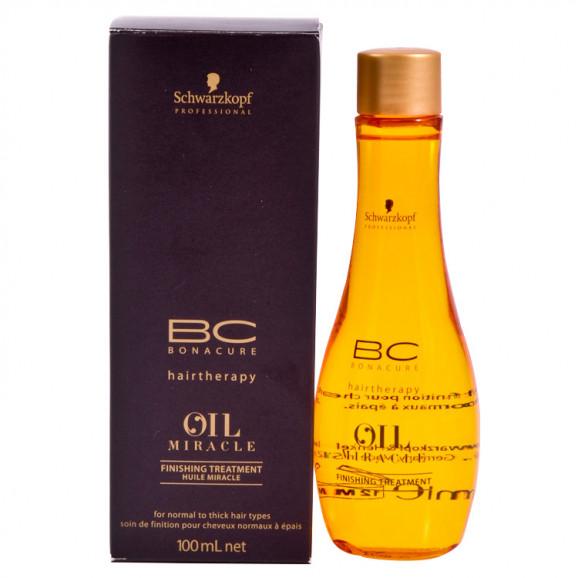 Schwarzkopf Bc Oil Miracle Finishing Treatment - Óleo de Argan 100ml