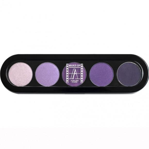 Paleta de Sombras T30 - Palette 5 Cores - Make Up Atelier Paris