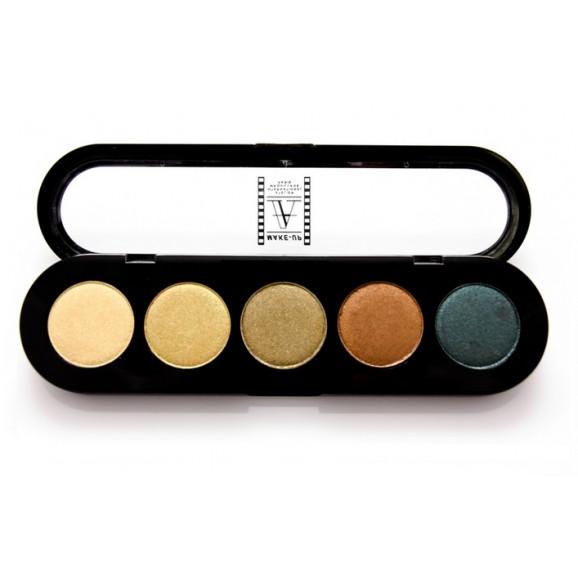 Paleta de Sombras T18 - Palette 5 Cores - Make Up Atelier Paris