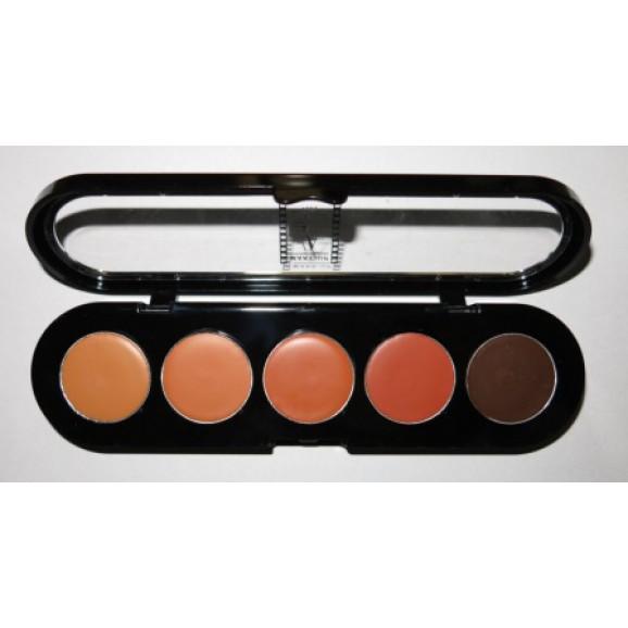 Paleta de Corretivos 5 cores APN com Marron - Make Up Atelier Paris 10g