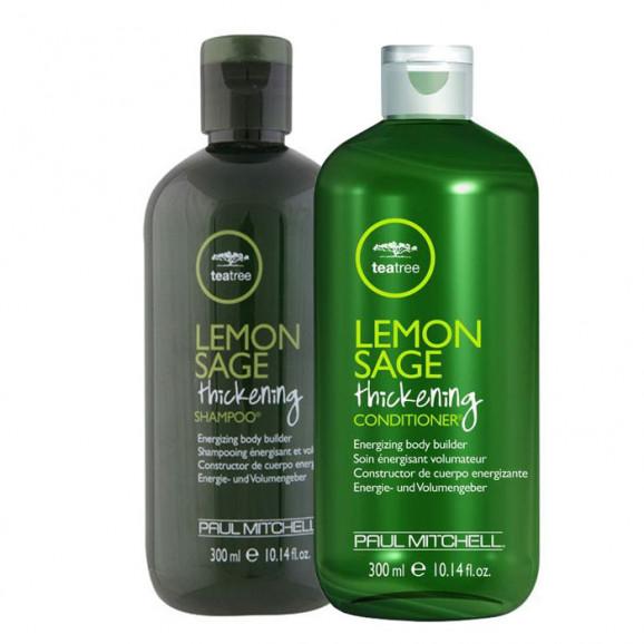 Kit Paul Mitchell Tea Tree Lemon Sage Thickening  (2 produtos)