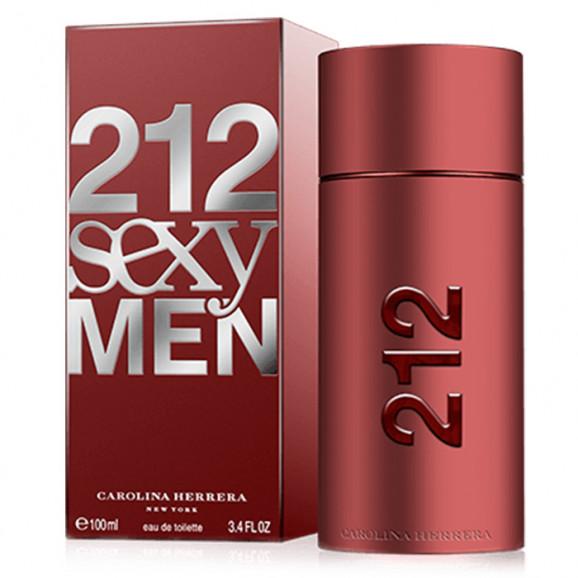 Perfume 212 Sexy Men Masculino 100ml - Carolina Herrera