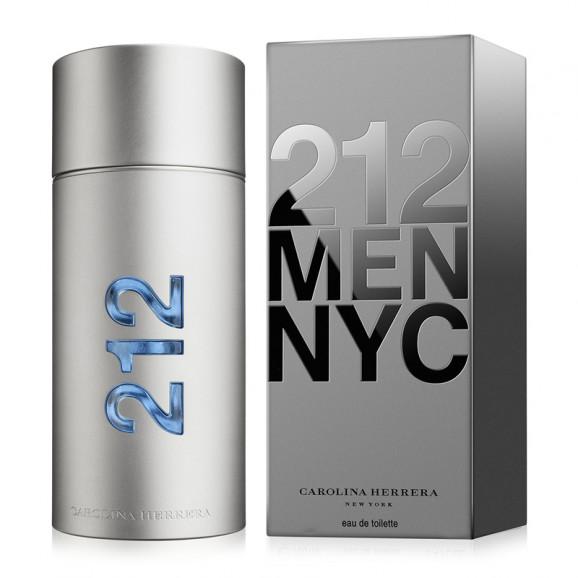 Perfume 212 Men NYC Masculina EDT 200ML - Carolina Herrera