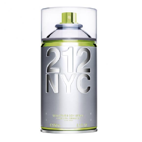 Perfume 212 Nyc Body Spray Feminino 250ml - Carolina Herrera
