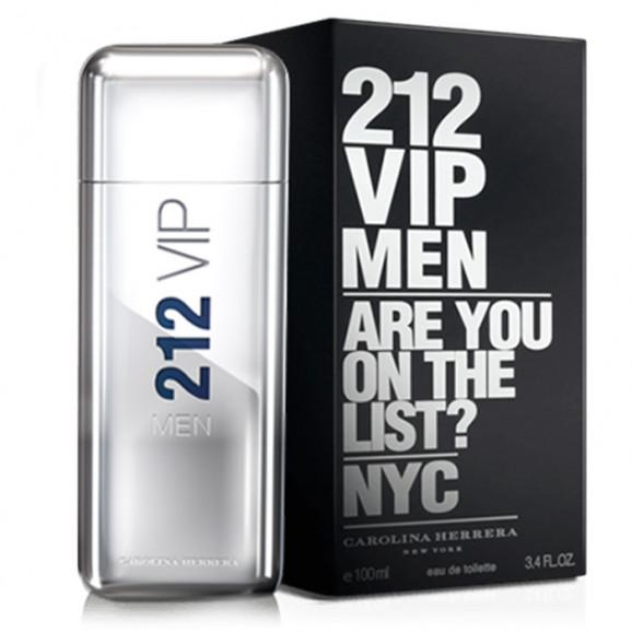 Perfume 212 Vip Men Masculino 100ml - Carolina Herrera
