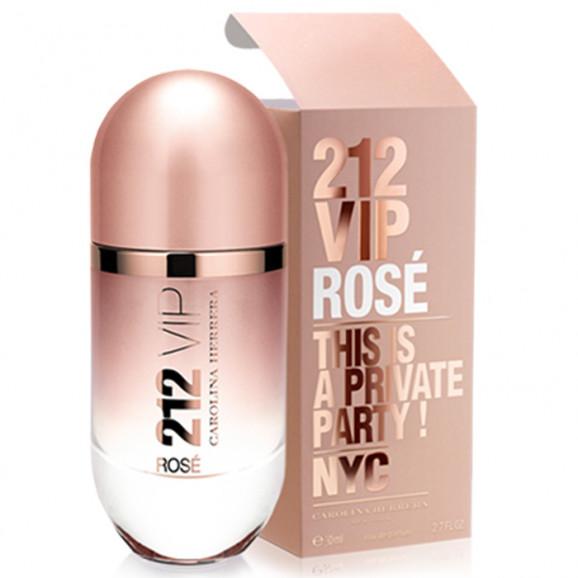 Perfume 212 Vip Rose Feminino 50ml - Carolina Herrera